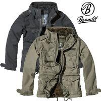 Brandit Herren Jacke Vintage Diamond Parka Winterjacke Jacket S M L XL XXL  NEU