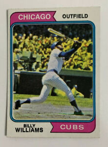 1974 Billy Williams # 110 Topps Baseball Card Chicago Cubs HOF