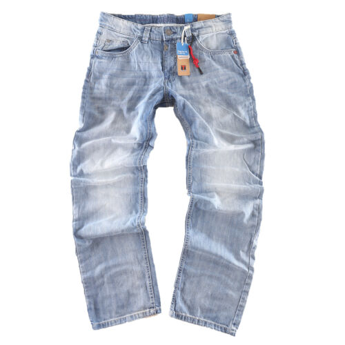 Timezone Herren Jeans Hose Coast TZ 3157 hellblau regular fit New