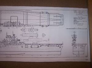 USS WASP ship boat model boat plan
