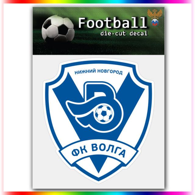 "FC Volga Nizhny Novgorod UEFA Die Cut Vinyl Sticker Car Bumper Window 4""x3.7"""