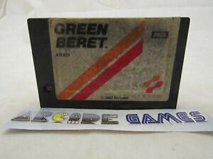 Green beret msx 1987 konami (seller pro)
