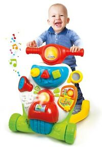 Baby-Clementoni-Multifunction-2-In-1-Activity-Walker-Light-Music-English-Spanish