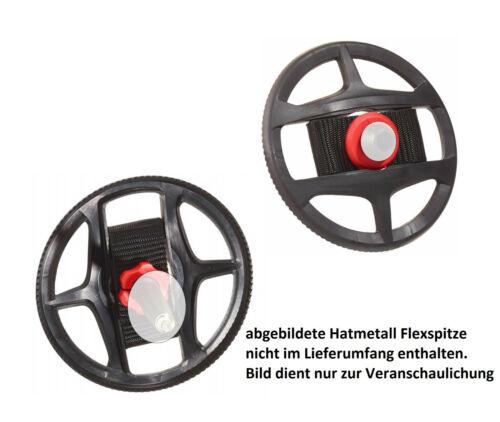 1 Paar LEKI Tourenteller Tiefschnee mit Gewinde für Lekispitzen Ø 115 mm