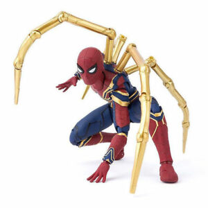 Marvel-Spider-Man-Spiderman-Avengers-Infinity-guerre-Fer-Action-Model-Figure-Toy