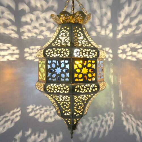 Oriental Lampe Marocaine suspendu lampe laiton Suspendu Lampe éclairage pendule