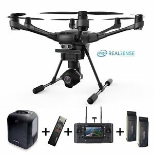 Yuneec-Typhoon-H-Pro-Version-Intel-Realsense-backpack-2x-battery-Wizard-4K-CGO