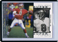 1998 Upper Deck Super Powers SILVER - UNNUMBERED /2000 ERROR - Steve Young 49ers