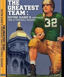 Sports DVD  The Greatest Team: Notre Dame's Unrivaled 1946-47 Football Squads