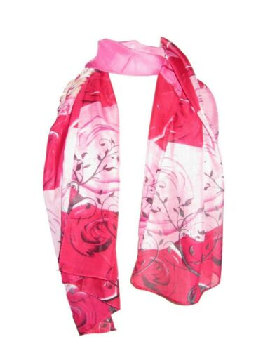 Lightweight rectangle neck scarf flowers animal lovehearts etc