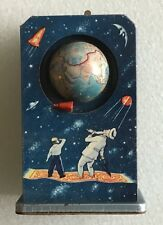 Sputnik Wind-Up Space Toy, Fairy Tales and Science: USSR, Late 1950s, Rare!