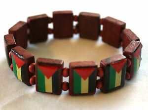 New-Palestinian-Bracelet-Stretchable-Wood-Palestine-Flags-Wristband