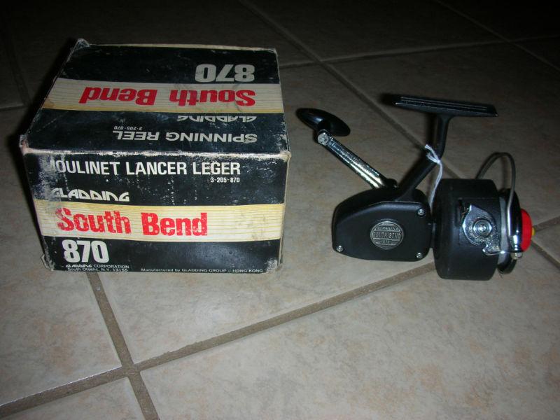 Vintage Gladding South Bend 870 Fishing Reel  G 11