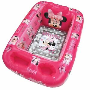 Disney Minnie Mouse Inflatable Bath Tub