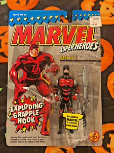 Marvel Superheroes Hulk Invisible Femme Lot De Figurines En Venom De Daredevil (4) 1993-94