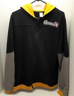 Black//Yellow Hayabusa Recast Series Athletic Fit Zip-Up Hoodie boxing mma