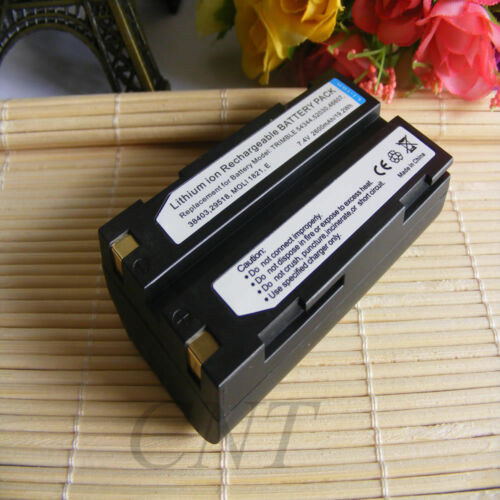 2600mAh BATTERY for TRIMBLE GPS 54344,5700,5800,MT1000,R7,R8 EI-2000 new