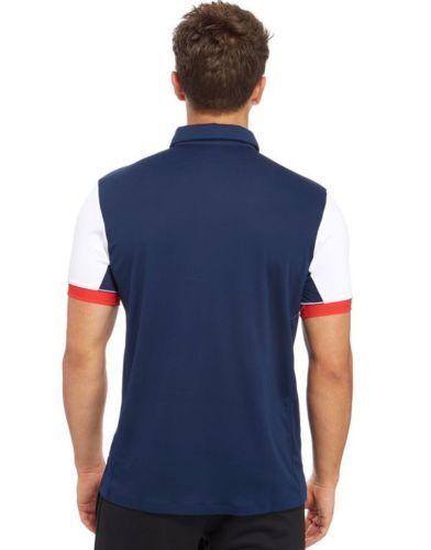 Large Official Adidas Olympics RIO 2016 Team GB Tennis Men/'s Polo Shirt Size