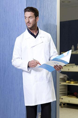 Camice Grembiule Sanitario Uomo Ospedaliero Laboratorio Medico Farmacista Divisa