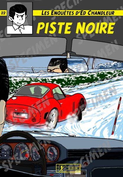 """""""piste Noire"""" Dessin (7 Ex Disponibles) Ferrari 250 Gto Par Jiceher"""