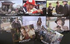 SEABISCUIT ORIGINAL 2003 GERMAN LOBBY SET TOBEY MAGUIRE JEFF BRIDGES HORSE