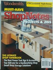 woodsmith must have shop notes projects jigs summer 2017 ebay