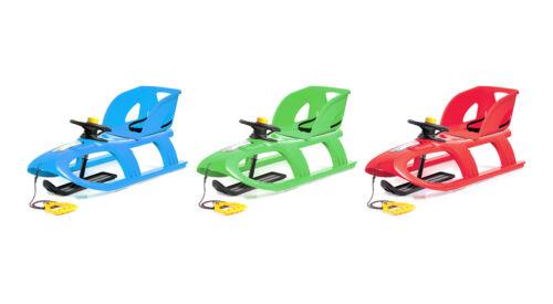 Kindersitz Schlitten Kinderschlitten Lenkschlitten Kunststoff Winter ISPC