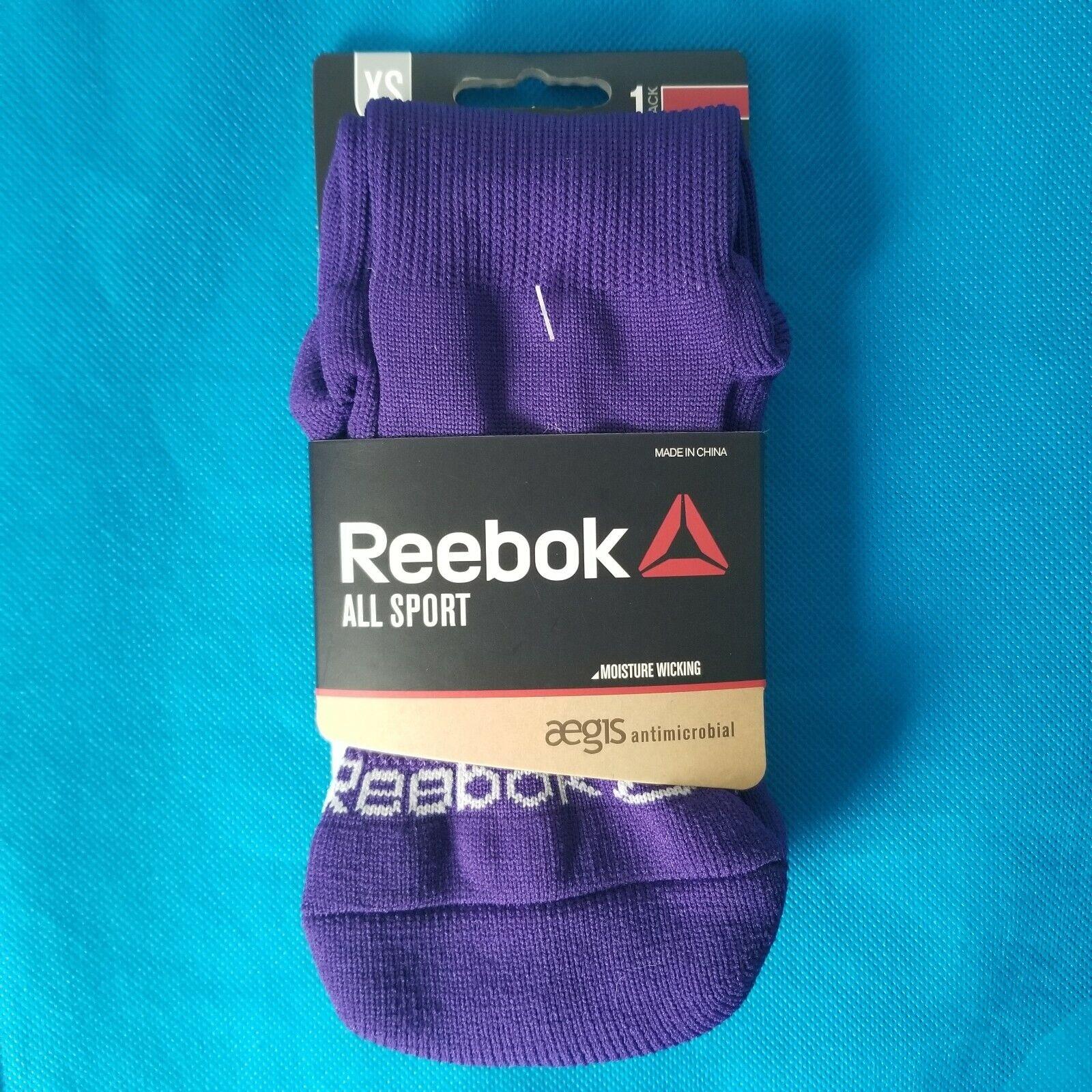 Reebok All Sport Baseball Soccer Socks