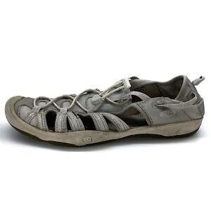 Keen-Water-Shoes-Women-039-s-Grey-Waterproof-Hiking-Sandals-Size-5