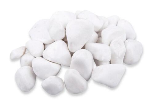 10 kg décoratif rond marbre blanc pierres galets Maison Jardin Aquarium Pot Pond