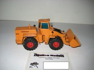 HANOMAG B 16 RADLADER #569.5 ORANGE CURSOR 1:50
