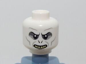 Lego Minifigure Head Harry Potter Voldemort H8