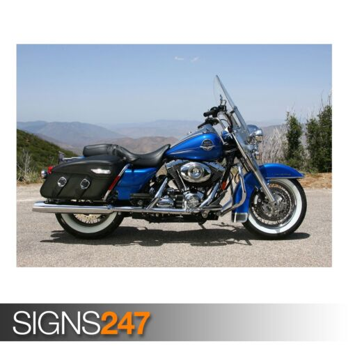 HARLEY DAVIDSON MOTORCYCLE 12 AC524 BIKE POSTER Poster Print Art A0 A1 A2 A3