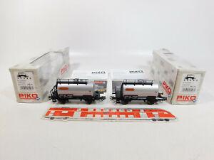 CM342-0-5-2x-Piko-H0-AC-95593-Kesselwagen-Wascosa-FS-NEM-KK-KKK-NEUW-OVP
