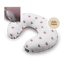 Breast-Feeding-Pillow-Mother-Support-Pregnancy-Blush-Hearts-Removable-Cover-Zip thumbnail 1