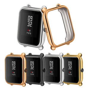 Electroplate-Soft-TPU-Case-Cover-Protector-for-Huami-Amazfit-Bip-Youth-Watch-UK