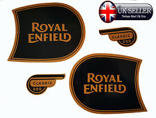 ROYAL ENFIELD CLASSIC500 FUEL TANK & TOOL BOX STICKER LOGO BADGE EMBLEM MONOGRAM