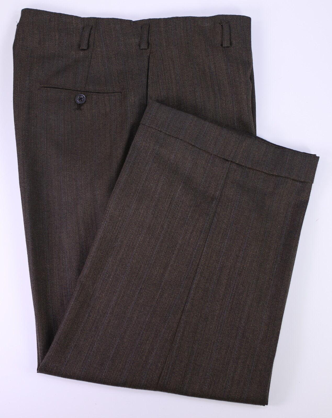 Maßanfertigung Ben Stiller für Walter Mitty Promi Kleidung Braun Hose 32 X