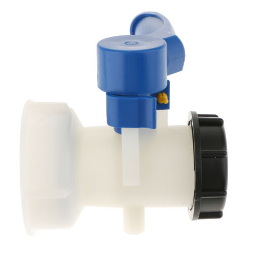 1000L IBC Tank Butterfly Valve Switch Water Adapter Water Container