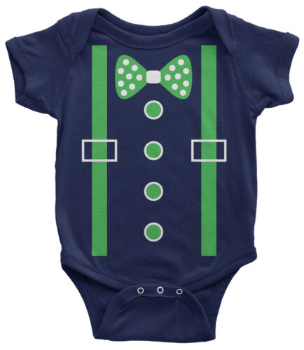Patrick/'s Day Irish Wedding Party Green Tuxedo Infant Bodysuit St
