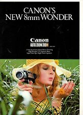 Photography Reference Guide For The Canon's New 8mm Wonder Auto Zoom 318m