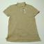 JCPenney-para-hombre-Talla-Mediana-Nueva-Camisa-Polo-de-malla-de-color-avena miniatura 1