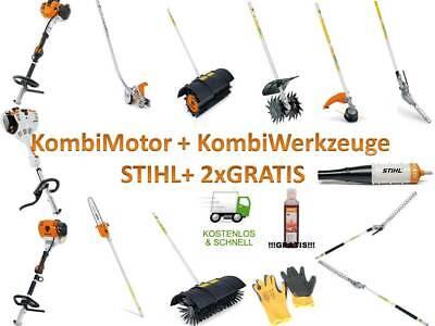 STIHL Kombimotor KM 131 R inkl Zubehör FS BG HL FH KW FCB KM KB BF HT