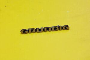 GRUNDIG SATELLIT 600 Radio Parts Repair - Original GRUNDIG LOGO Frontal
