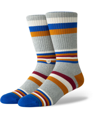 Stance Fitzgerald Crew Socks in Heathergrey