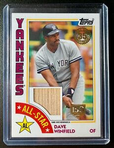 2019-Topps-Series-2-1984-35th-Anniversary-DAVE-WINFIELD-Bat-Relic-Card-SP-150