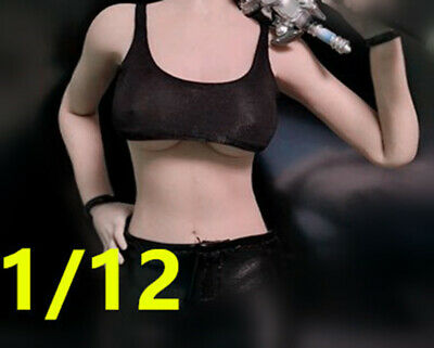"TBLeague PHICEN 1//12 Female Black stocking Model for 6/"" figure No staining"