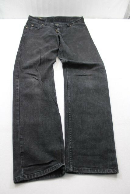 J6634 Brooklyn Lee Brooklyn J6634 Jeans w32 l32 noir très bien 98a198