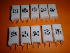 MOX 10x 2,7 kOhm 5/% 4 Watt Widerstand Metalloxid