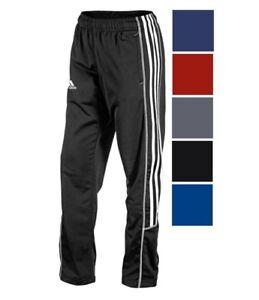 adidas-Women-039-s-Adiselect-Pants-Athletic-Polyester-Warm-Up-Training-3-Stripe-Pant